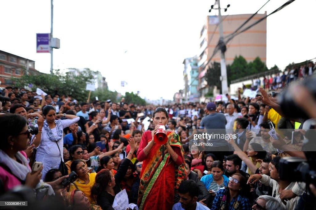 Mass Rally Justice For Nirmala Panta : News Photo