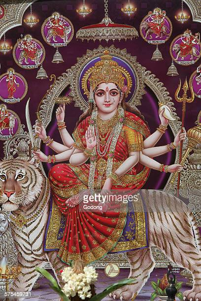 durga - durga stock photos and pictures