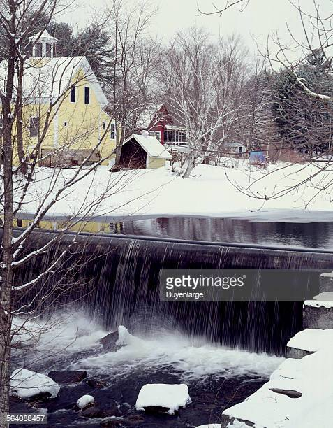 Durgin Bridge over the Swift River in Tamworth New Hampshire