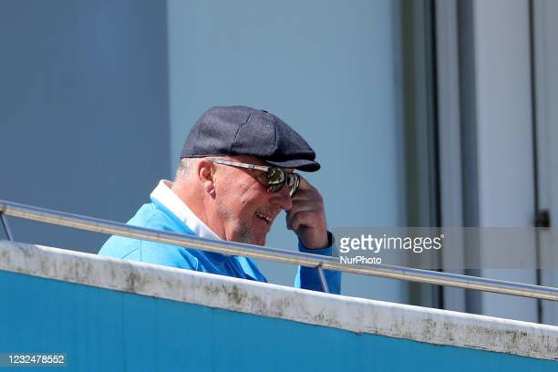 Durham Chairman Sir Ian Botham during the LV= Insurance County Championship match between Durham County Cricket Club and Derbyshire County Cricket...