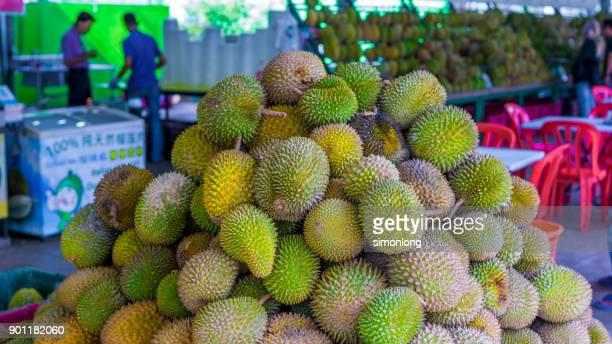 Durians Market in Kuala Lumpur, Malaysia