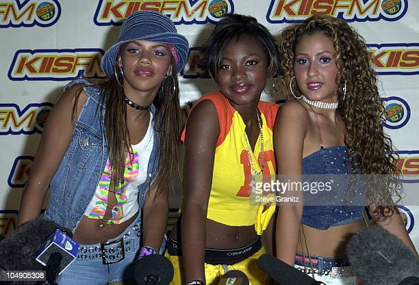 3LW during 1027 KIISFM's 2001 Wango Tango at Dodger Stadium in Los Angleles California United States