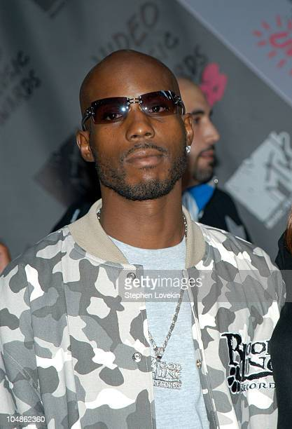 DMX during 2003 MTV Video Music Awards Arrivals at Radio City Music Hall in New York City New York United States