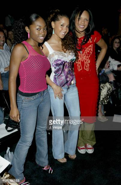 3LW during 2003 Smashbox Fashion Week Los Angeles John Sakalis Spring Collection 2004 Front Row and Audience at Smashbox Studios in Culver City...