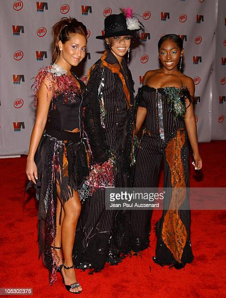 3LW during 2003 VIBE Awards Arrivals at Civic Auditorium in Santa Monica California United States