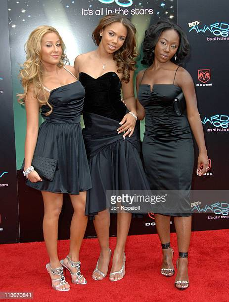 3LW during 2006 BET Awards Arrivals at The Shrine in Los Angeles California United States