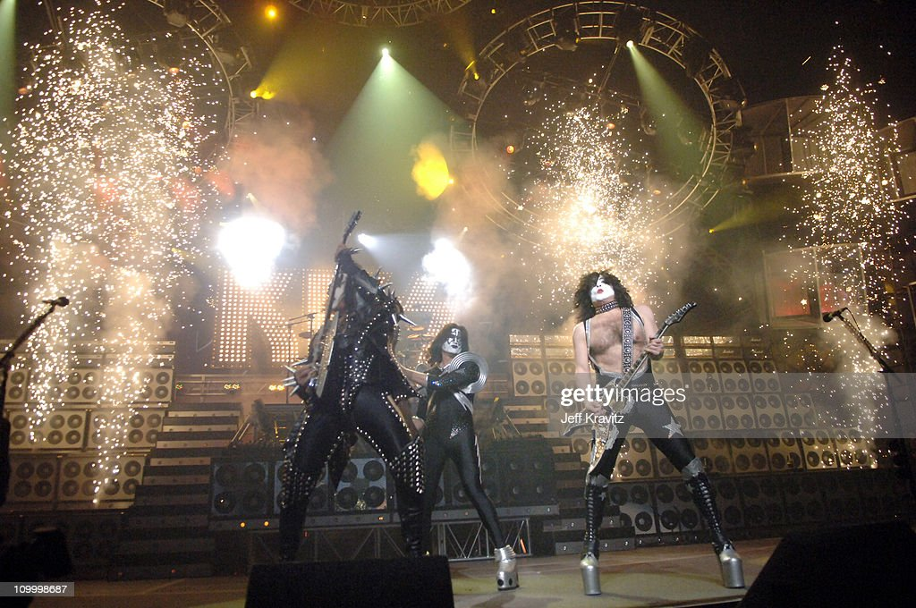 KISS during 2006 VH1 Rock Honors - Show at Mandalay Bay Hotel and Casino in Las Vegas, Nevada, United States.