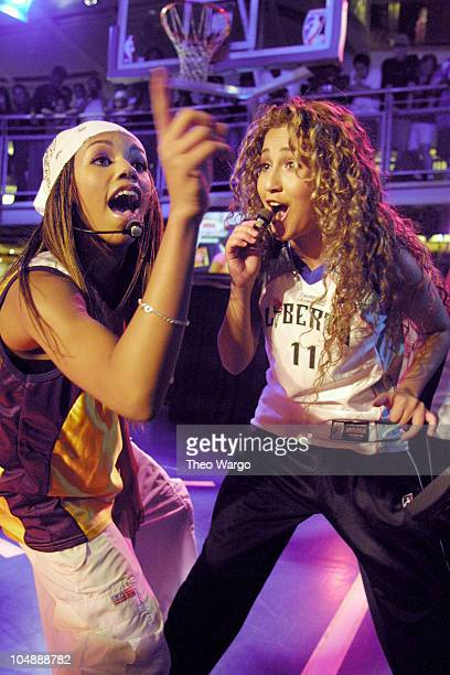 3LW during 3LW perform at the NBA store in New York City in New York City New York United States