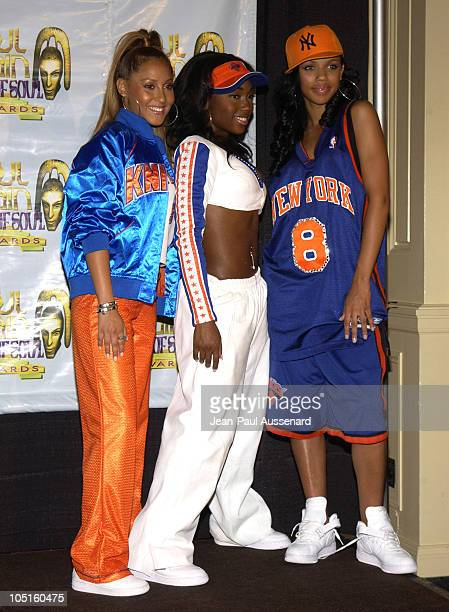 3LW during 9th Annual Soul Train Lady of Soul Awards Pressroom at Pasadena Civic Center in Pasadena California United States