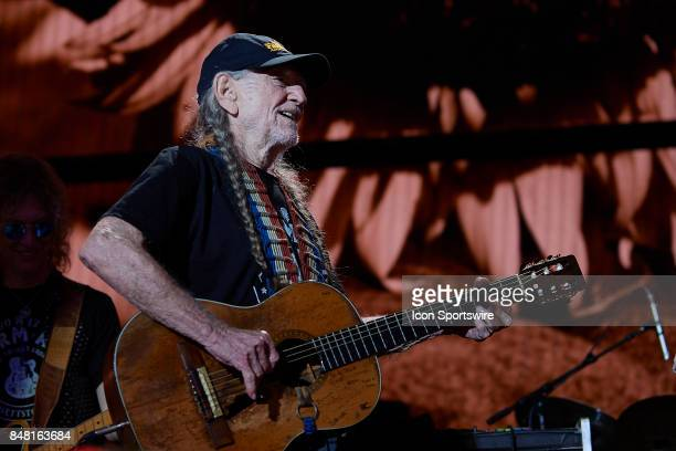 during a concert at Farm Aid 2017 on September 16 2017 at Keybank Pavilion in Hanover Township PA