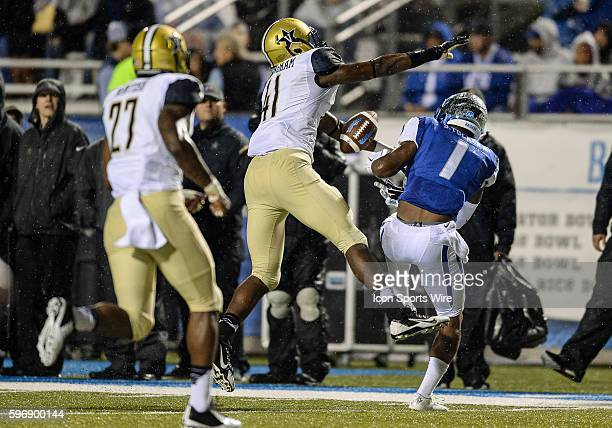 during a game between the Vanderbilt Commodores and Middle Tennessee Blue Raiders at Johnny Red Floyd Stadium in Murfreesboro TN