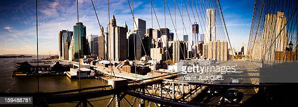 CONTENT] During a holiday s week in New York City I took this picture of Manhattan from the Brooklyn bridge It was a great view with the blue sky and...
