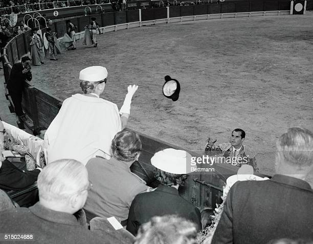 During a stop over on their honeymoon cruise, Princess Grace of Monaco and Prince Rainier took in a bull fight in Majorca. In keeping with custom,...