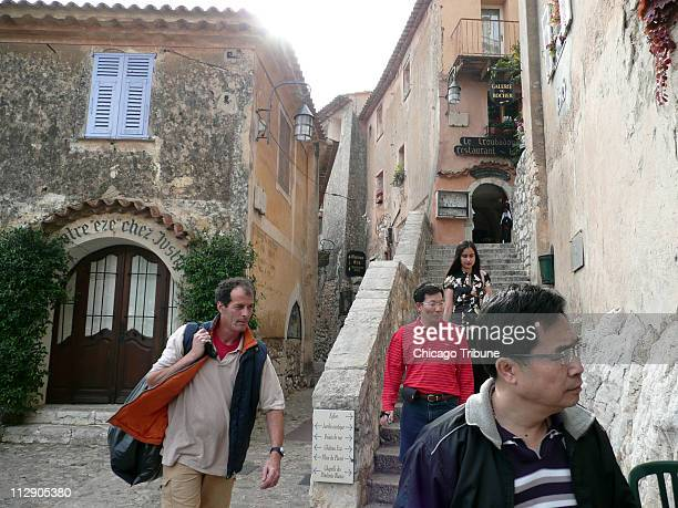 During a weeklong walk in the French Riviera there are plenty of opportunities for solitude but hoards of tourists are not uncommon such as in the...
