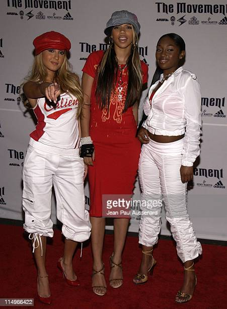 3LW during Arista Record's BET Awards After Party at White Lotus in Los Angeles CA United States