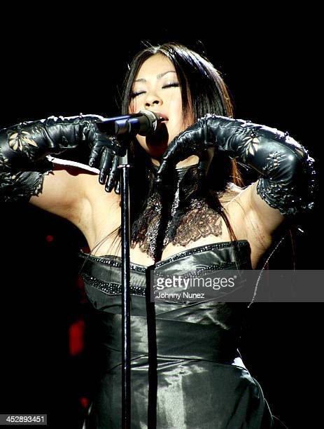 During BlackBook Magazine and Island Def Jam Present UTADA at SkyLight Studios in New York City, New York, United States.