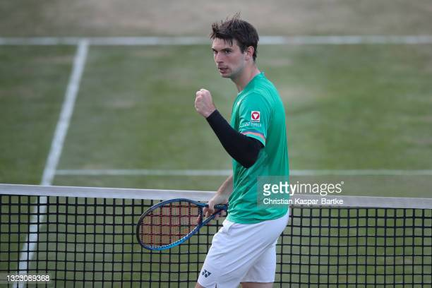During day 5 of the MercedesCup at Tennisclub Weissenhof on June 11, 2021 in Stuttgart, Germany.