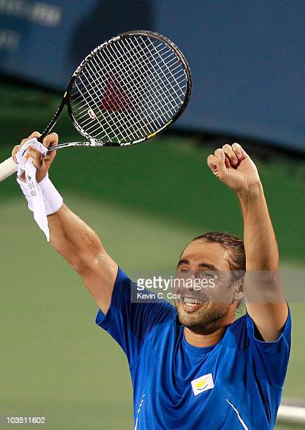 during Day 5 of the Western Southern Financial Group Masters at the Lindner Family Tennis Center on August 20 2010 in Cincinnati Ohio