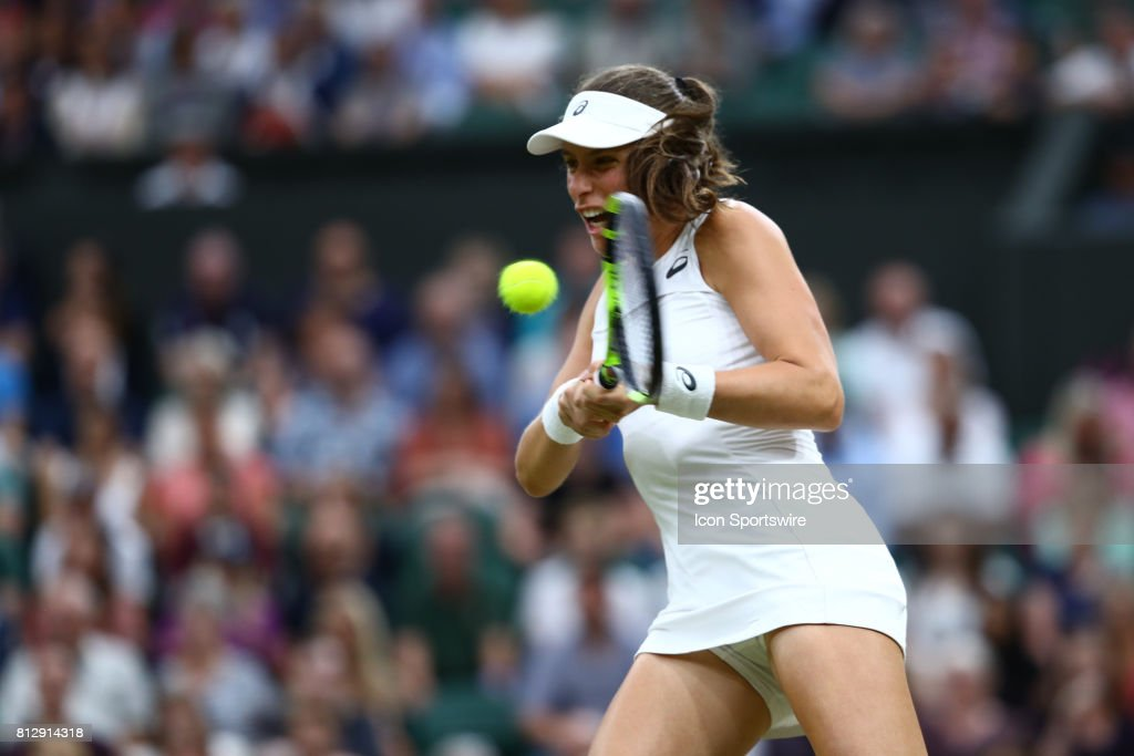 during day eight match of the 2017 Wimbledon on July 11, 2017, at All England Lawn Tennis and Croquet Club in London, England.