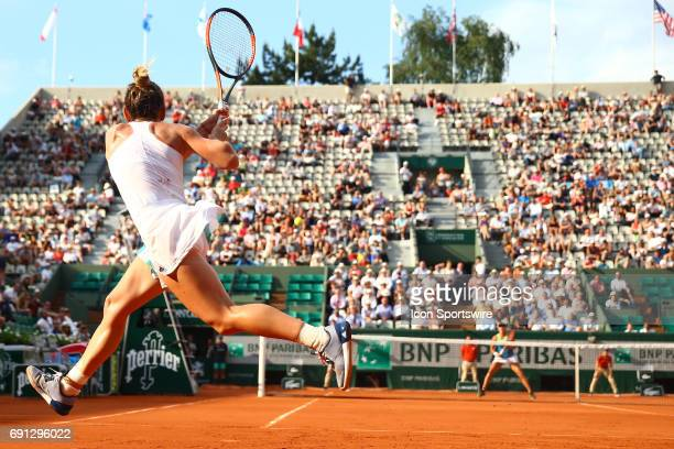 during day five match of the 2017 French Open on June 1 at Stade RolandGarros in Paris France