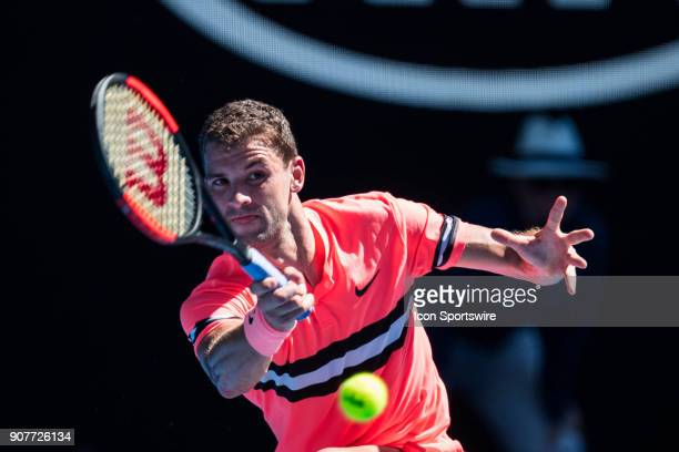 during day five match of the 2018 Australian Open on January 19 2018 at Melbourne Park Tennis Centre Melbourne Australia