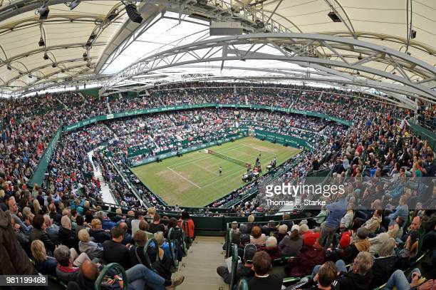during day five of the Gerry Weber Open at Gerry Weber Stadium on June 22 2018 in Halle Germany