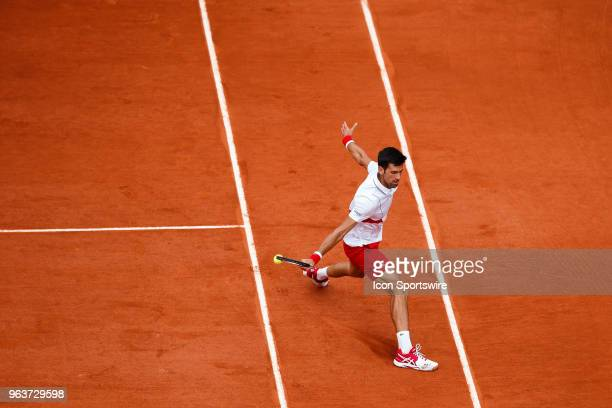 during day four match of the 2018 French Open 2018 on May 30 at Stade RolandGarros in Paris France