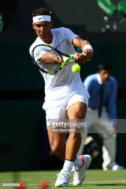 during day one match of the 2017 Wimbledon on July 3 at All England Lawn Tennis and Croquet Club in LondonEngland