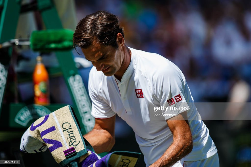 during day one match of the 2018 Wimbledon on July 2, 2018, at All England Lawn Tennis and Croquet Club in London,England.
