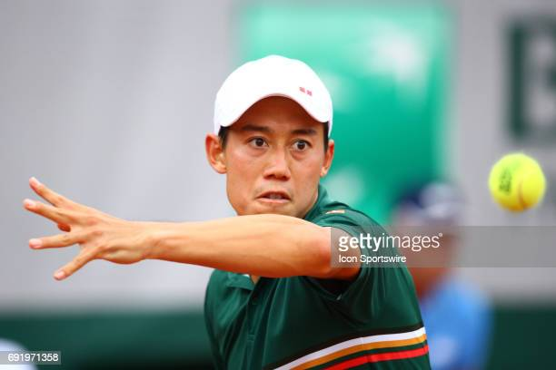 during day seven match of the 2017 French Open on June 3 at Stade RolandGarros in Paris France