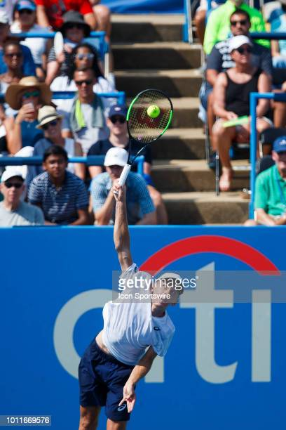 during day seven match of the 2018 Citi Open on August 05 2018 at Rock Creek Park Tennis Center in Washington DC