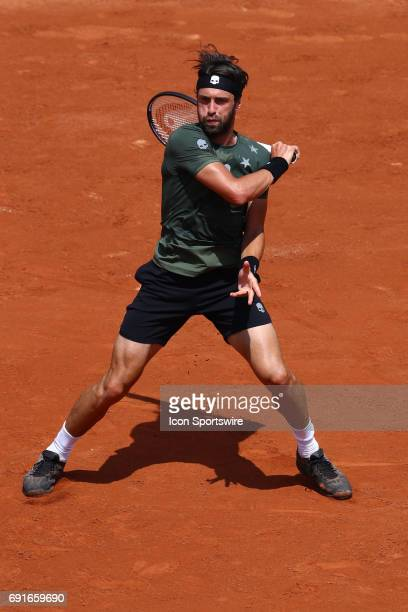 during day six match of the 2017 French Open on June 2 at Stade RolandGarros in Paris France