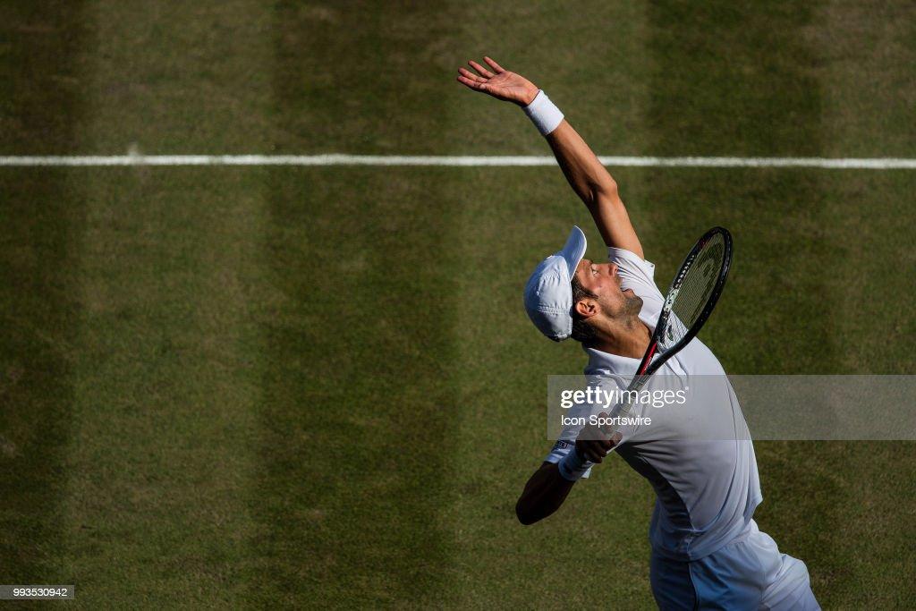TENNIS: JUL 07 Wimbledon : Nieuwsfoto's