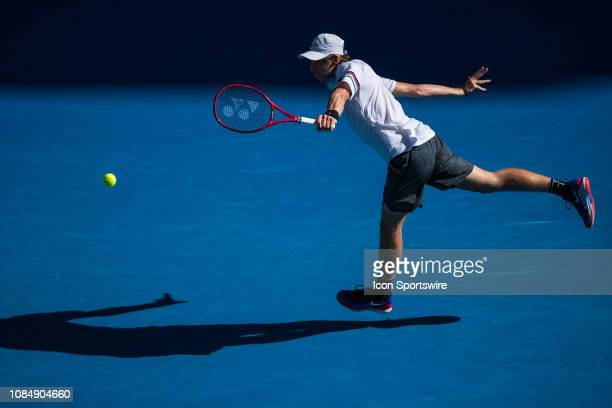 during day six match of the 2019 Australian Open on January 19 2019 at Melbourne Park Tennis Centre Melbourne Australia