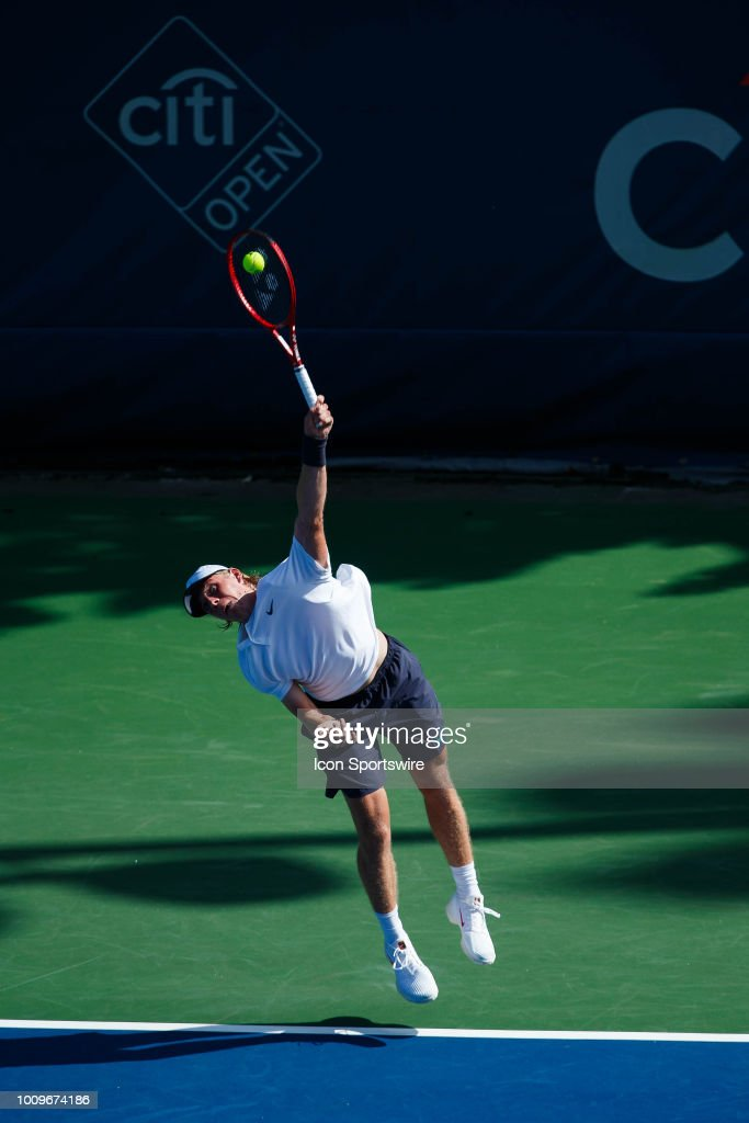 TENNIS: AUG 01 Citi Open : News Photo