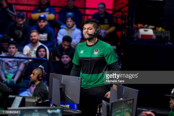 during Day Three of the NBA 2K League Tip Off Tournament on April 4 2019 at the NBA 2K Studio in Long Island City New York NOTE TO USER User...