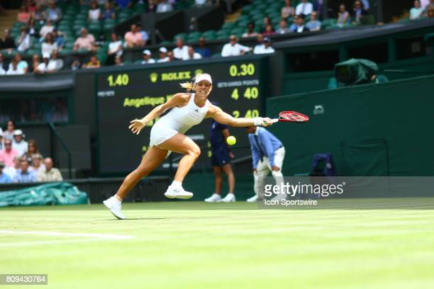 during day two match of the 2017 Wimbledon on July 4 at All England Lawn Tennis and Croquet Club in LondonEngland