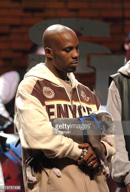 DMX during DMX Signs to Sony Urban Music/Columbia Records Press Conference at 447 West 53rd Street in New York City New York United States