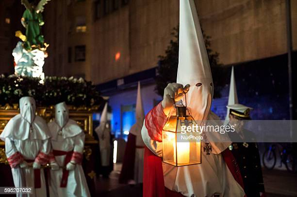 During Easter Monday night prayer procession that runs through the downtown area of the city of Santander takes place SANTANDER Spain on March 21...