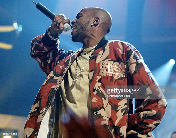 DMX during First Annual Spike TV Video Game Awards Show and Backstage at MGM Grand Casino in Las Vegas Nevada United States