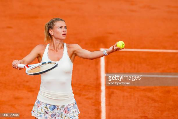 during French Open on June 02 at Stade RolandGarros in Paris France