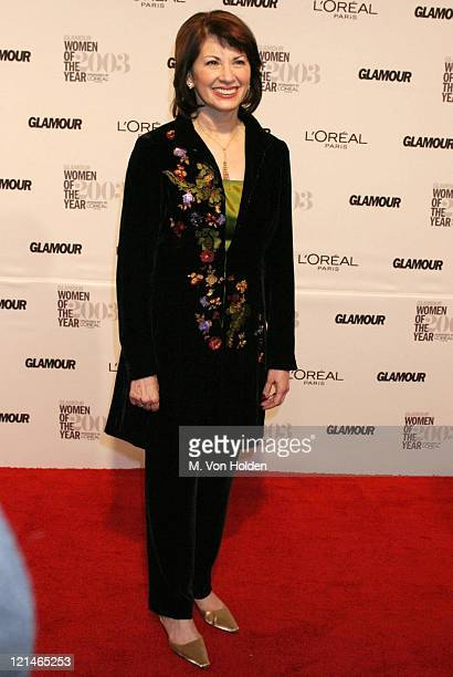 FELDT during GLAMOUR MAGAZINE SALUTES THE 2003 'WOMEN OF THE YEAR' at MUSEUM OF NATURAL HISTORY in New York New York United States