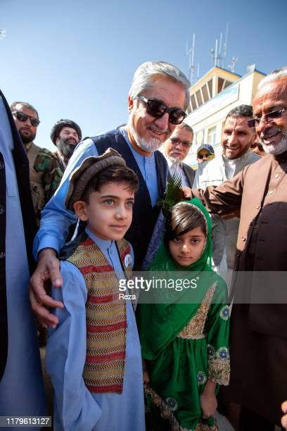 During his 2019 presidential campaign Dr Abdullah is welcomed at Herat Airport by sons of martyrsDr Abdullah Abdullah is an Afghan political leader...
