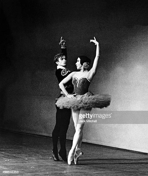 During his American stage debut at Brooklyn Academy RussianFrench dancer and actor Rudolf Nureyev performs with Sonia Arova 1962