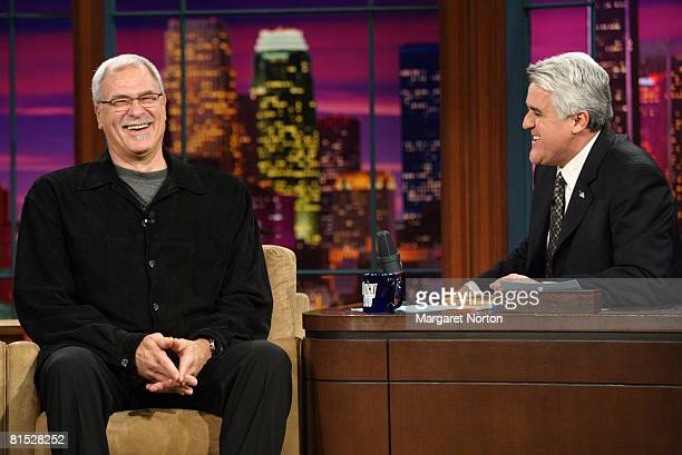 During his appearance on tonight's show Los Angeles Lakers coach Phil Jackson talks about his relationship with Kobe Bryant their recent conversation...