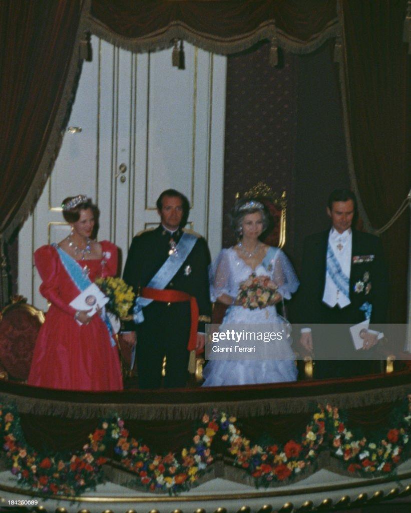 Spanish Kings In Denmark. : News Photo