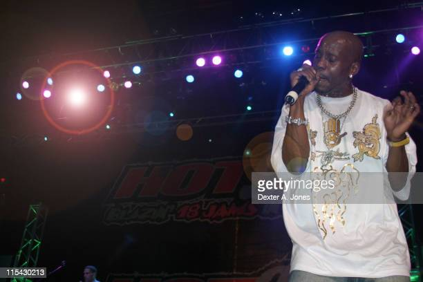 DMX during Hot 937 presents Summer Jam 2006 at Hartford Civic Center in Hartford Connecticut United States