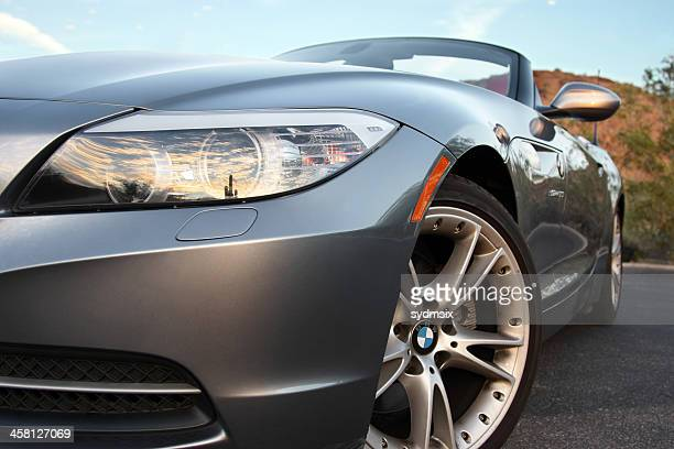 bmw z4 during late day - bmw stock pictures, royalty-free photos & images