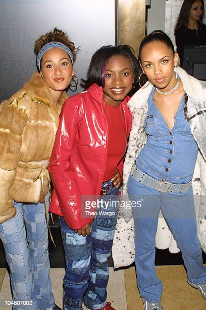 3LW during MAC Viva Glam Party at Tuscan Steak Restaurant in New York City New York United States