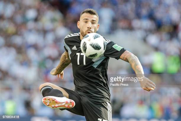 OTAMENDI during match between Argentina and Iceland valid for the first round of Group D of the 2018 World Cup held at the Spartak Stadium in Moscow...